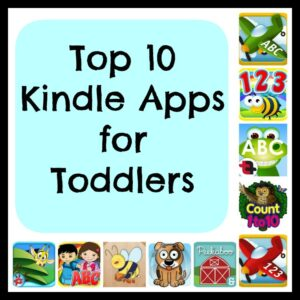10 Top Kindle Apps Graphic