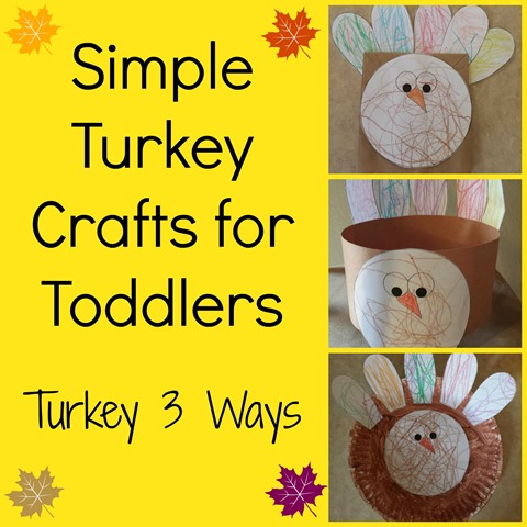 Fall activities for toddlers turkey 3 ways for Thanksgiving crafts for infants
