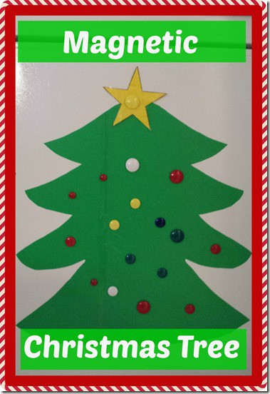 Magnetic Christmas Tree