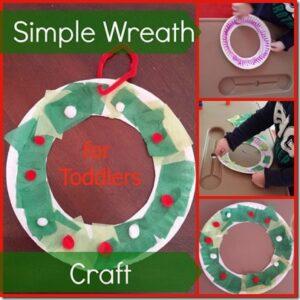 Simple Wreath Craft