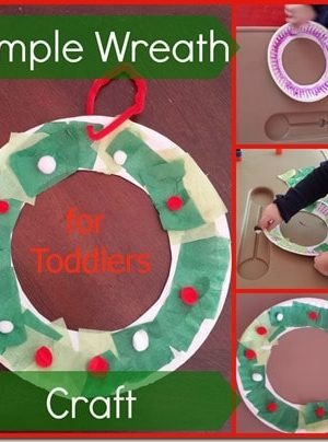 Simple Wreath Craft