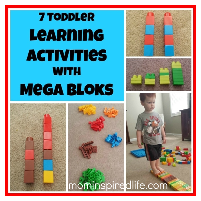 7 toddler learning activities with mega bloks. Black Bedroom Furniture Sets. Home Design Ideas