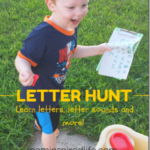 Outdoor Letter Hunt