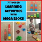 7 Toddler Learning Activities With Mega Bloks
