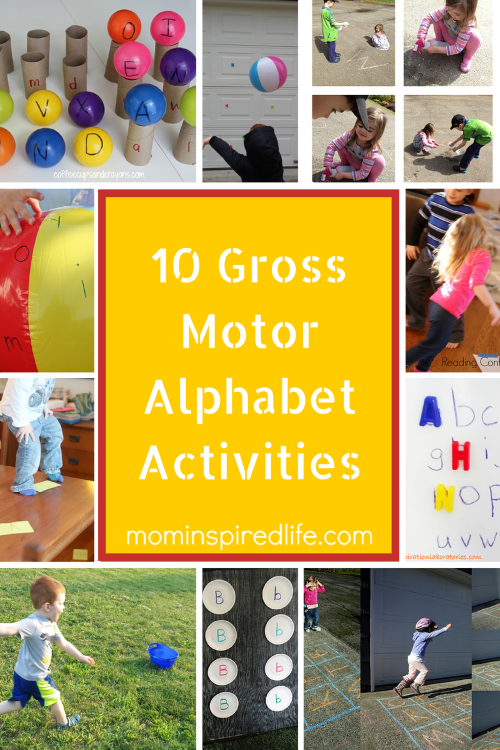10 gross motor alphabet activities for preschoolers