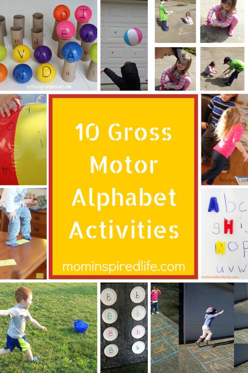 Number Names Worksheets learning sheets for kindergarten : 10 Gross Motor Alphabet Activities for Preschoolers