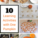 10 Pumpkin Learning Activities with One Pumpkin