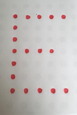 Drilling letters E