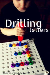 Preschool Letter Recognition: Drilling Letters