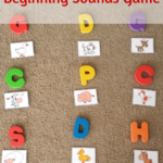Farm Animals Beginning Sounds Game #PlayfulPreschool