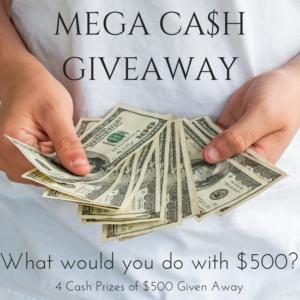 Mega Cash Giveaway