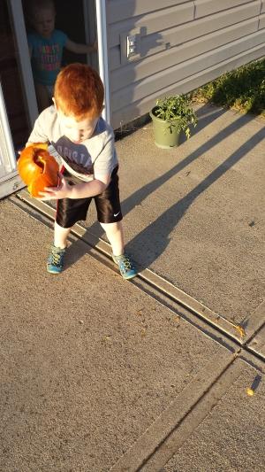 Pumpkin Smashing