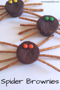 Brownie Spider Snack Dessert