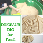 Dinosaur Dig for Fossil Puzzles