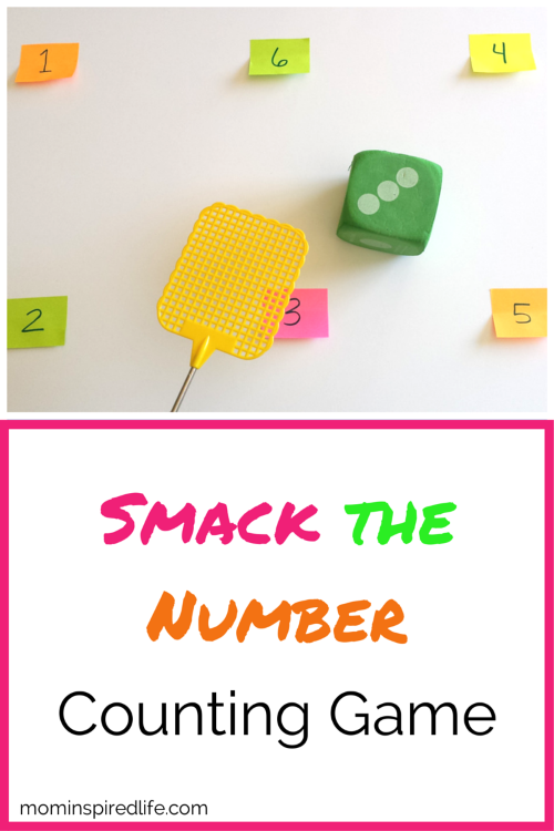 Smack the Number Counting Game for Preschool
