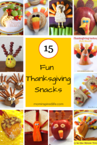 15 Fun Thanksgiving Snacks for Kids