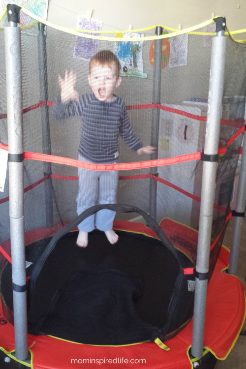 Airzone Trampoline and Enclosure. Review. Develop gross motor skills and exercise while having a blast!
