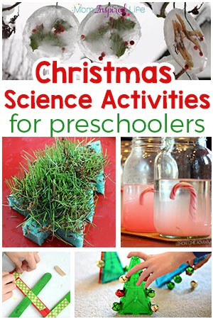 20+ Christmas Science Experiments for Preschoolers