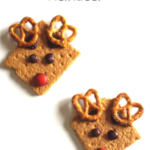 Graham Cracker Reindeer Snacks