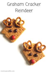 Graham Cracker Reindeer Snacks
