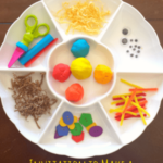 Invitation to Build a Scarecrow with Play Dough