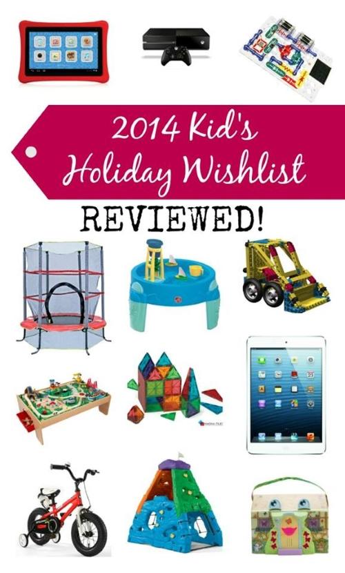 Kids' Holiday Wishlist Reviewed