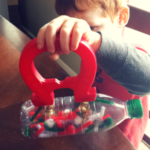 Magnetic Christmas Science and Sensory Bottle