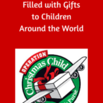 Filling a Shoebox with Gifts for Children