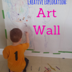 Preschool Art: Art Wall