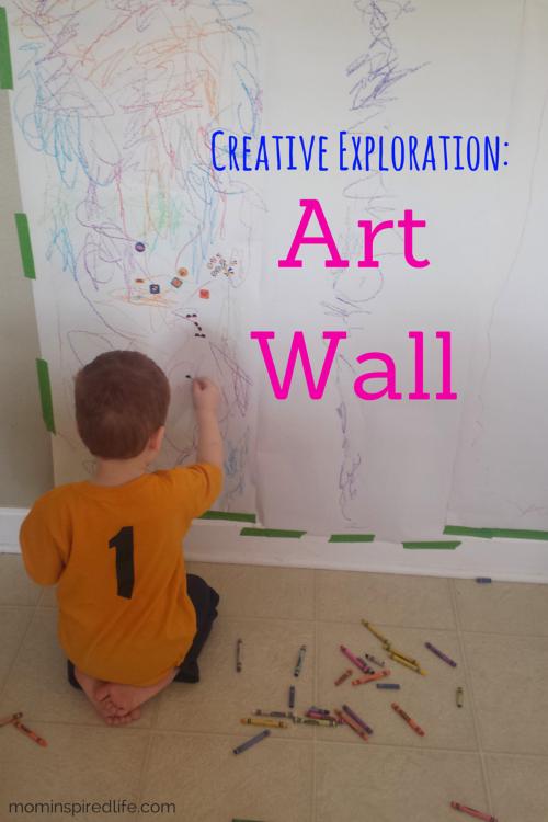 Preschool Art Art Wall