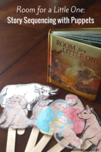 Room for a Little One Story Sequencing with Puppets