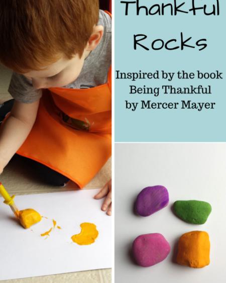 Thankful Rocks: A Visual Reminder to be Grateful