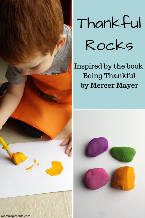 Thankful Rocks: Activity based on the book Being Thankful