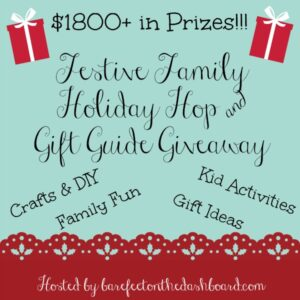 festive family giveaway hop and gift guide giveaway