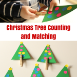 Christmas Tree Counting Busy Activity