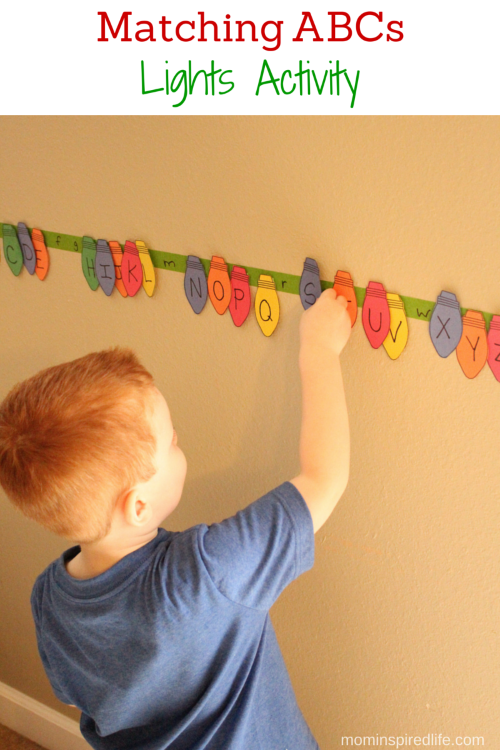 Christmas Lights Crafts For Preschoolers