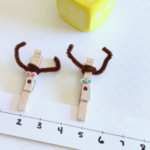 Racing Reindeer Number Line Activity