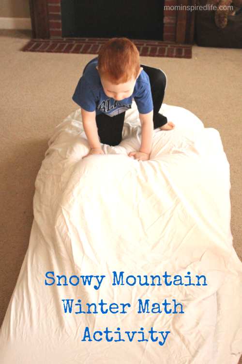 Snowy Mountain Winter Math Activity on More Winter Printables