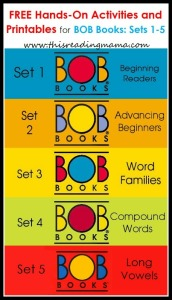 BOB Books printables