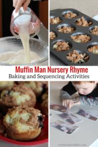 Muffin Man Nursery Rhyme Activities