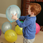 Number Order with Balloons