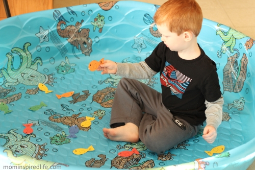 Penguin Plunge Move and Learn Alphabet Activity. Learn letters and develop gross motor skills while learning about polar animals.