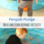 Move and Learn Alphabet Activity: Penguin Plunge