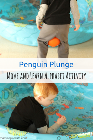 Move And Learn Alphabet Activity Penguin Plunge