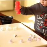 Snowball Smash Alphabet Activity for Preschoolers