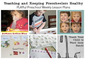 Teach your kids to be healthy with these lessons from the Playful Preschool team!