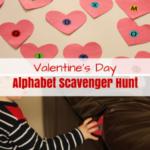 Valentine's Day Alphabet Scavenger Hunt