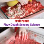 Fizzy Dough Sensory Science for Fine Motor Development