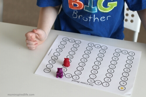 Letter Sounds Alphabet Game. Help your child commit letter sounds to memory by playing this fun game!