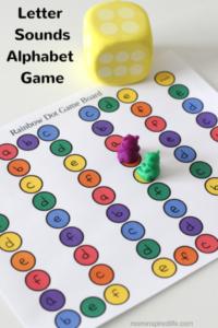 Letter Sounds Alphabet Game